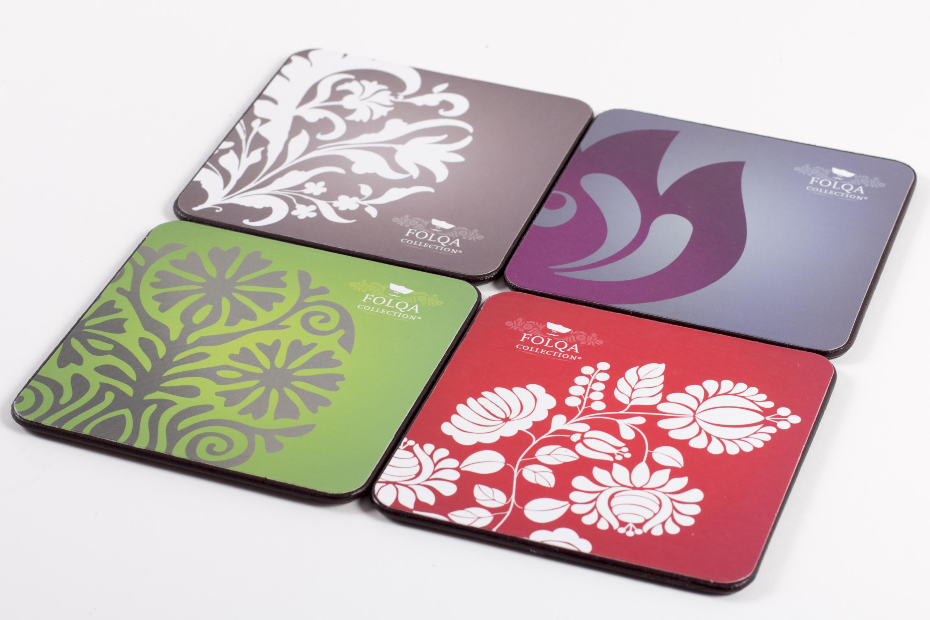 Foloqa Coasters of the Kitchen Sets