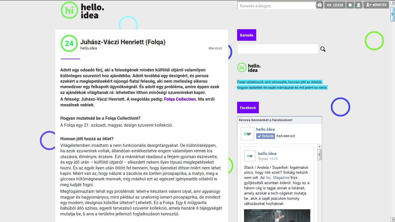 Hello Idea blog Folqa
