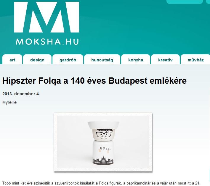 Folqa a Moksha címoldalán
