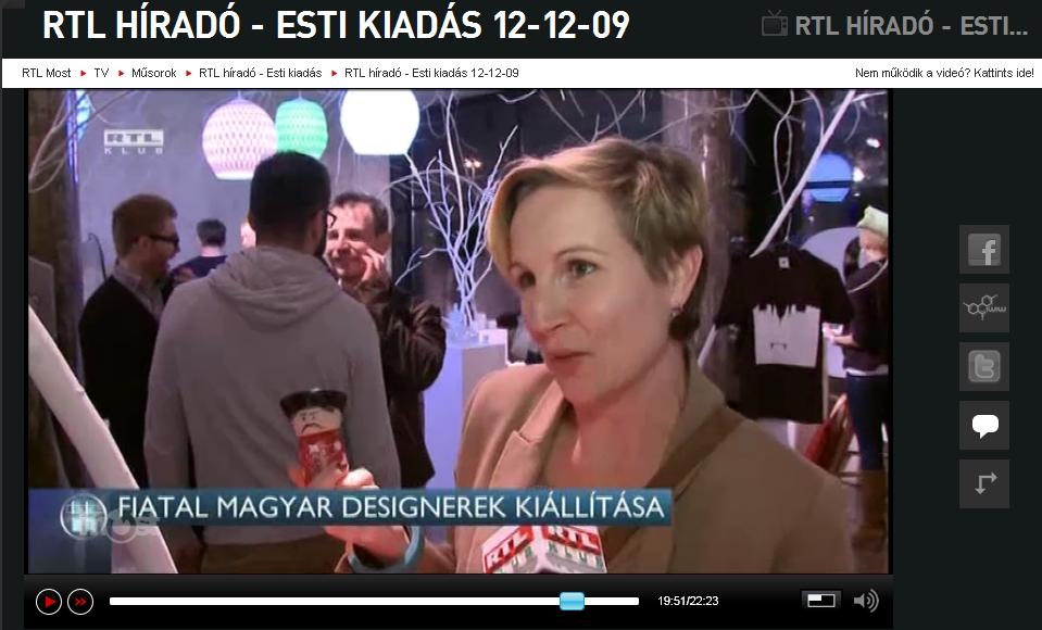 Folqa az AjándékTerminálban - RTL Klub