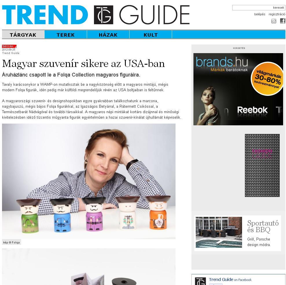 Magyar szuvenír sikere az USA-ban